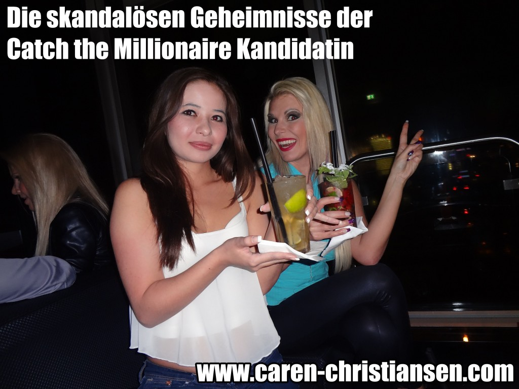Caren aus catch the millionaire beim pornocasting 1